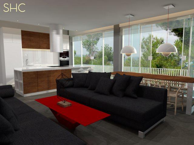Diseño integral de vivienda unifamiliar