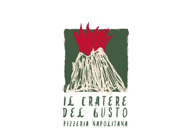 Imagen corporativa para IL CRATERE DEL GUSTO, pizzeria napolitana